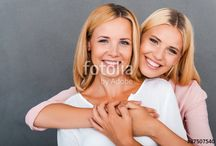 Mother & daughter photos
