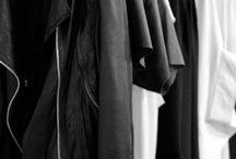 I have nothing to wear ...wardrobes closets b&w