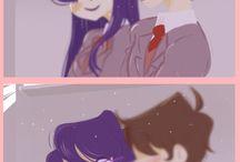 Just Monika.