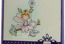 LOTV - Calendar Fairies / 12 fabulous Fairy Calendar Stamps and matching sentiment sheet. http://www.liliofthevalley.co.uk/acatalog/Fairies.html / by Lili of the Valley Ltd