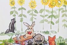 Tales of Buttercup Grove / A new early reader series with a vintage flair along the lines of Peter Rabbit, and Frog and Toad.