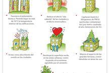 Muros y Azoteas verdes / by Clara HS
