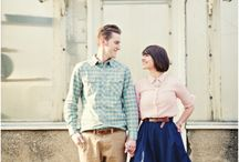the LOVE SHOOT / This young couple has been married only three years and have a love for the arts and photography, and wanted a session that captured them at this stage of their life together.
