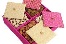 Diwali Dry Fruit Gift Packs / Our latest Diwali special dry fruit gift packs for Diwali celebration.