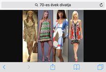 60-as évekbeli ruhák