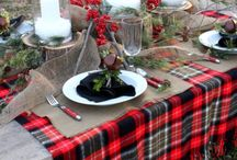 table ideas / by Mitzi James