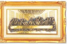 LAST SUPPER PLAQUES / Our Last Supper plaques are beautifully crafted with fine details, in quality wood frames.