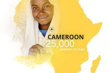 Cameroon / Your shared meals help to provide school meals to 25,000 children affected by Boko Haram violence. The children are between 4 and 13 years old and live in Logone and Chari, in Cameroon's Far North region. Take a look at their pictures and stories!