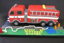 hasičské auta