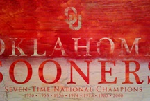 OKLAHOMA SOONERS PAINTED WALLPAPER by Alan Paul / OU Sooners wallpapers. Designed by me! Free to use by you! ©accretive.com