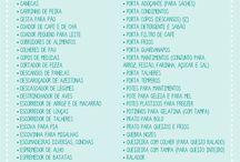 lista chá de cozinha