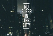 "City Chicks / ""New York, concrete jungle where dreams are made of"""