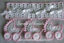 Baby carriage garland