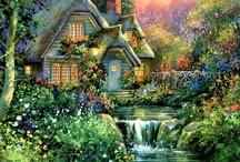 Casas e ambiente