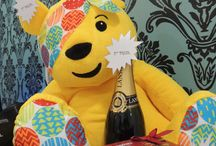 Pudsey at Focus Clinics / Charity  Children In Need  BBC