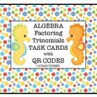 Math QR Codes  / This is a collection of QR Code activities that can be used in a math classroom.