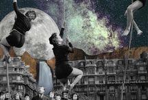 Collage illustrations