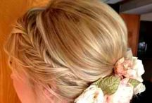wedding hair / by Carey Vandewalle