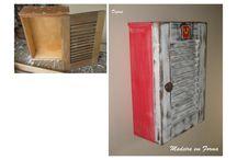 Madeiras demolição móveis antigos