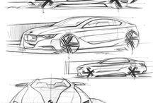 Car design & sketch