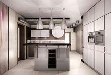Projekty kuchni / Aranżacje kuchni