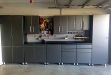 Garage cupboards