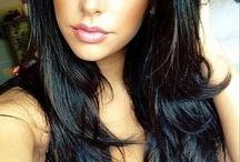 Dark hair color