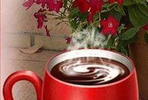 mensaje con cafe