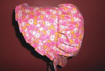 Sunbonnets / Colorful traditional sunbonnets for ladies of all ages by GrandmasGirl.com
