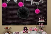 Pink Power Ranger Samurai Birthday Party