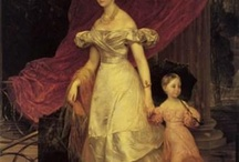 The Regency--Women and Children / Historical prints of mothers and children, and some families (ie., with the father). Most will be regency, but not all--I'll make a note when they're not.   / by Linore Burkard