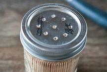 Norges glass...mason jars