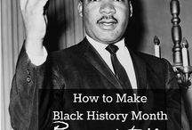 Black History Month / Books, movies, and other resources to help you learn about and celebrate Black History.