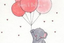 Hearts and Ballons