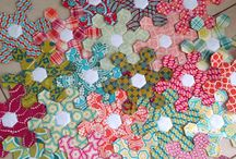 Quilts ~ Hexagons & EPP / by Jane Ramee