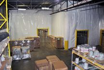 Palmer's Candies | Insulated Warehouse Curtain Wall | Keeps Chocolate Cool / Palmer's Candies uses InsulWall® to create a cooler room to keep chocolate fresh