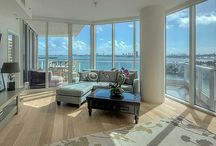 RENTED ~ Paramount Bay #802 / Beautifully finished upgraded 4 bedroom at Paramount Bay ~ Open kitchen & living room to enjoy Biscayne Bay views ~ Listing Price: $7,650