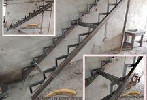 detalles de escalera s