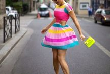 Uniqu-est fashions / Truly original, colorful, imaginative