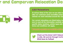 Car hire and camper van relocation deals