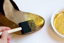 DIY pailleté et scintillant / Tout ce qui brille : paillettes, strass, sequins, doré, argenté !