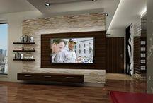 tv decorating