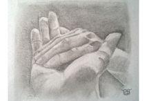 Tekeningen / Handen