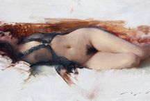 Nude / Nude drawings and paintings