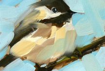 Archive: Paint Techniques / Ideas for painting classes I run.