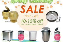 Spring Cleaning Sale / Unbeatable deals with the never ever low prices!!!