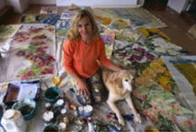 Colette Gouin: Paintings from the Legend