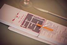 Idées présentation menu mariage / Des idées pour présenter son menude mariage