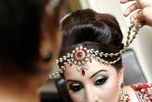 Indian bride's