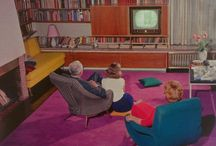 60s Living Rooms / by 1960s Fashion Style